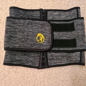 Waist Trainer Small Under and Over Shapewear Warm Neoprene Sweat You More
